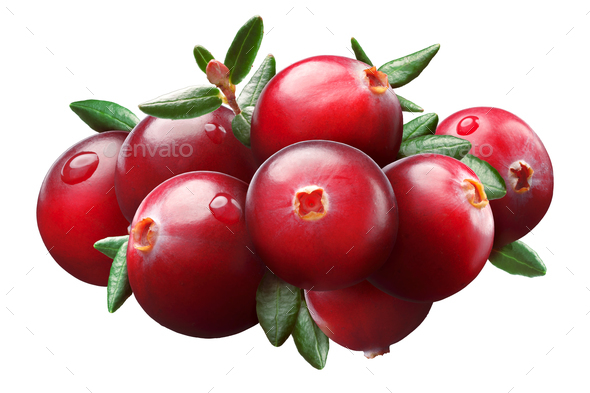 Cranberry composition, clipping paths