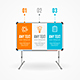 Concept of Business Infographic Option Banner Card - GraphicRiver Item for Sale