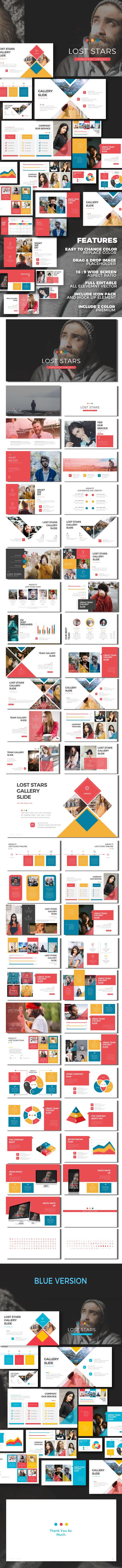 Lost Stars - Keynote Presentation Templates - Business Keynote Templates