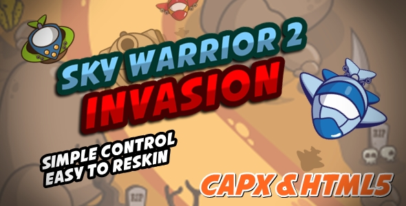 CodeCanyon Sky Warrior 2 Invasion 20495285