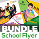 Junior School Flyer Bundle - GraphicRiver Item for Sale