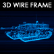Tank N3 3D Wireframe - VideoHive Item for Sale