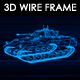 Tank N4 3D Wireframe - VideoHive Item for Sale