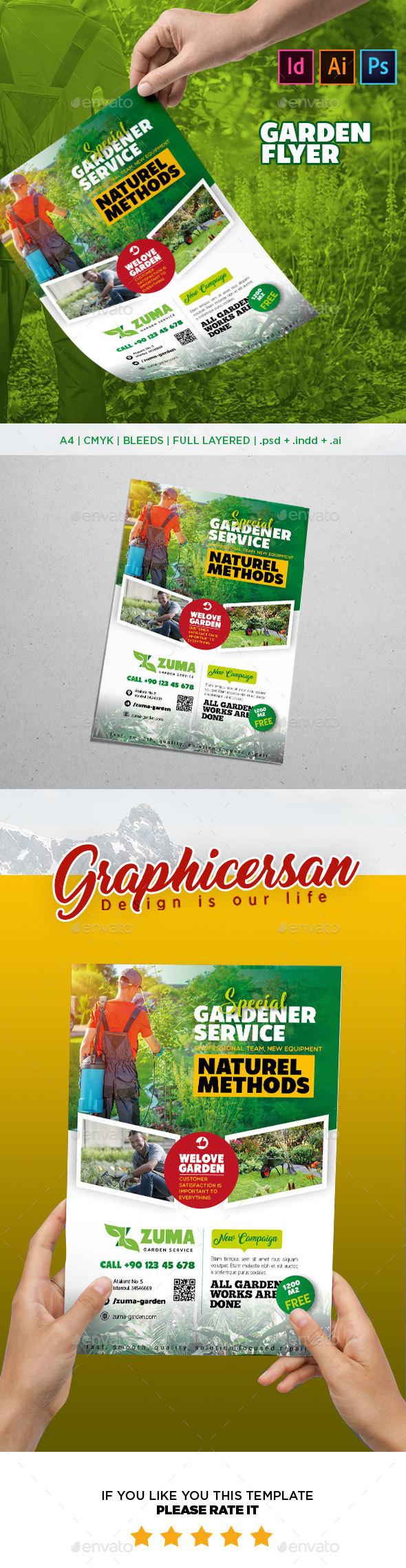 GraphicRiver Garden Flyer Template 20495398