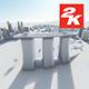 3D Singapore City View