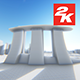 3D Singapore City View 3