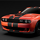 Dodge Challenger SRT Hellcat Go Mangoo 2017 - 3DOcean Item for Sale
