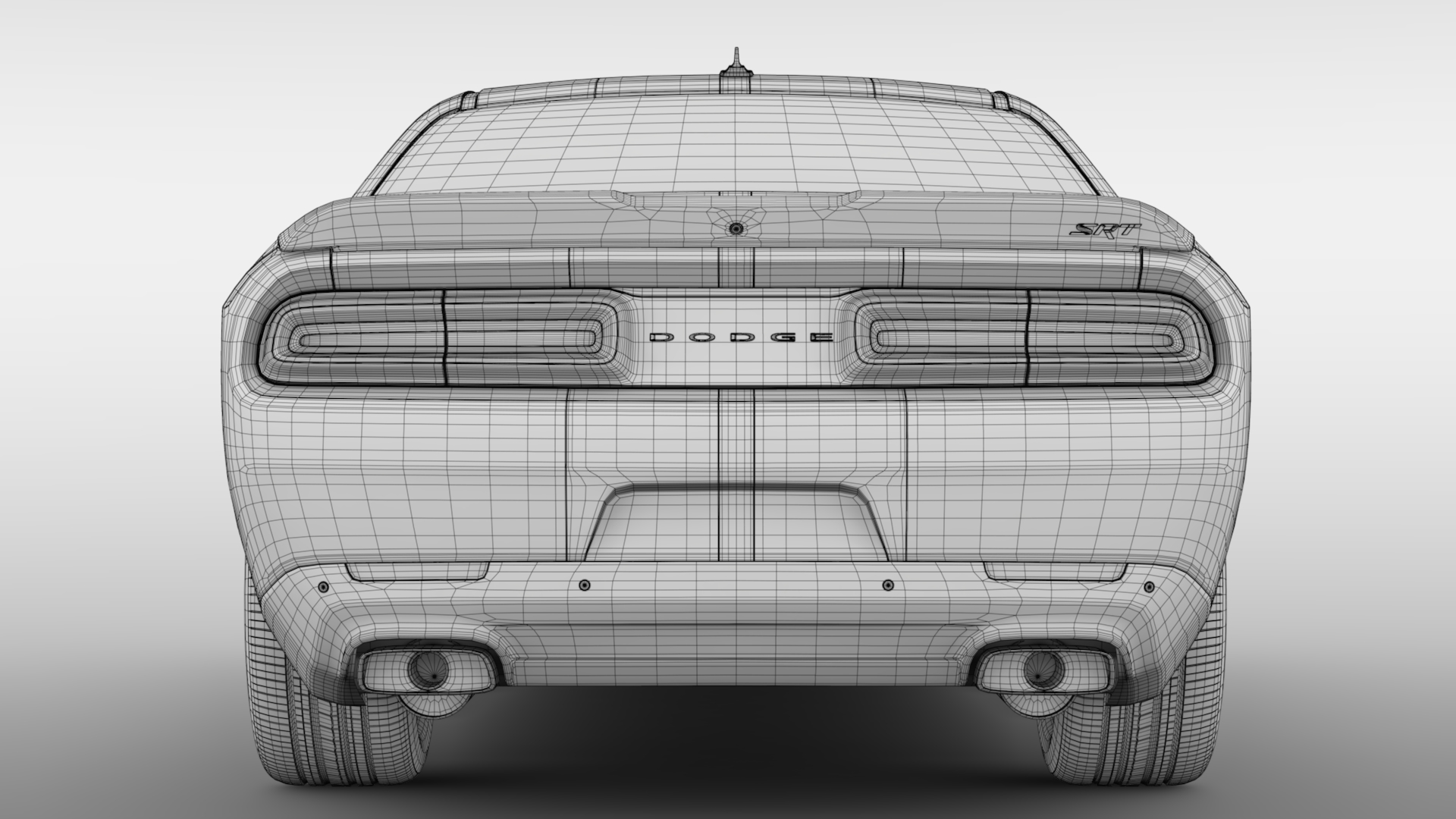 Dodge Challenger Srt Hellcat Go Mangoo 2017 By Creator 3d