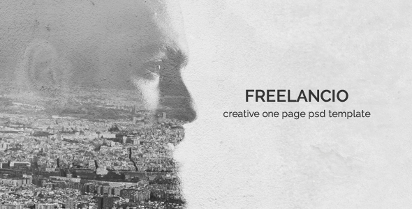 ThemeForest Freelancio Creative One Page PSD Template 17553543