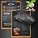 Chef's Restaurant Menu - A4 and US Letter - Single Page - GraphicRiver Item for Sale