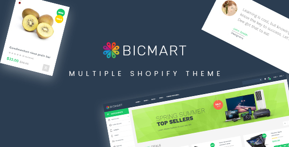Image of Ap Bicmart Shopify Theme