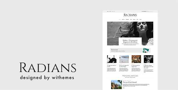 Radians | Modern Magazine Theme - Blog / Magazine WordPress