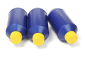 Three Blue Plastic Bottles - PhotoDune Item for Sale