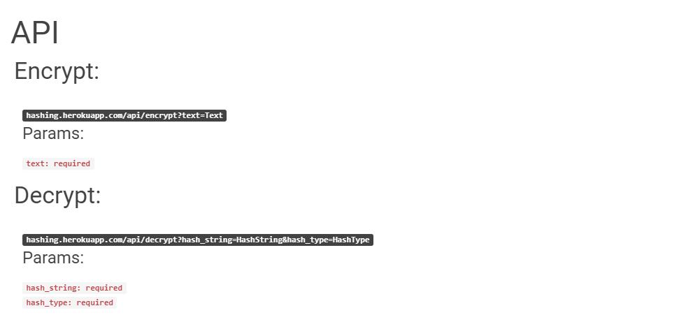 MyHash - Encrypt & Decrypt Text Online - Laravel & VueJS - Material Design  - Support API