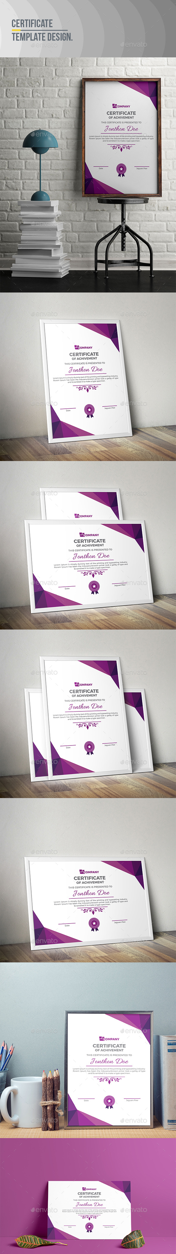 GraphicRiver Certificate Template 20496473