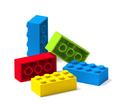Colorful building toy blocks 3D - PhotoDune Item for Sale