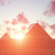 Egyptian Pyramids at Sunset - VideoHive Item for Sale