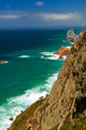 View of the Atlantic Ocean from Cape Roca, Portugal