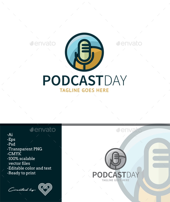GraphicRiver Podcast Day 20496750
