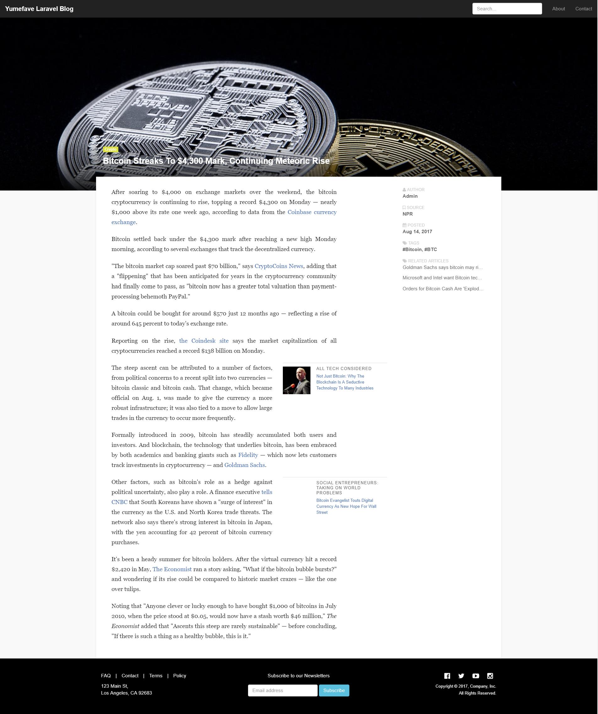 Yumefave | Laravel News & Blog - 2