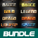40 Reper Bundle Text Effect Styles V02 - GraphicRiver Item for Sale