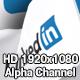 Flag Transition - LinkedIn - VideoHive Item for Sale