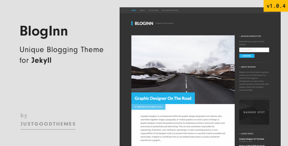 BlogInn - Bold Theme for Jekyll - Jekyll Static Site Generators
