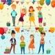 Kids Party Banner Set