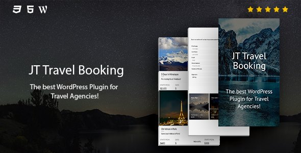 JT Travel Booking - CodeCanyon Item for Sale