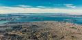 Aerial view of San Francisco wide area with bay and bridges - PhotoDune Item for Sale