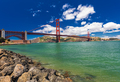 Panoramic shot of Golden Gate Bridge in San Francisco, Californi - PhotoDune Item for Sale