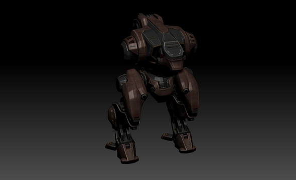 3DOcean War Robots Jasse James 20497563