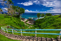 Stairs to the beach, tropical Upolu, Samoa Islands - PhotoDune Item for Sale