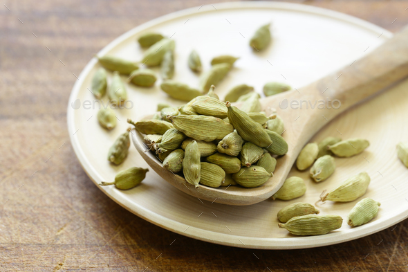 Spices Cardamom - Stock Photo - Images