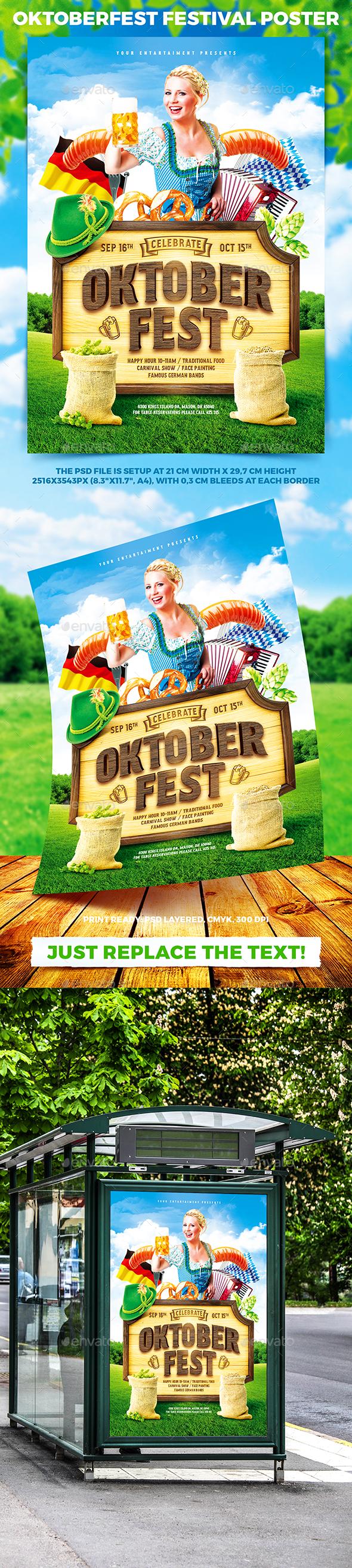 Oktoberfest Festival Poster vol.7 - Holidays Events