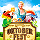 Oktoberfest Festival Poster vol.7 - GraphicRiver Item for Sale