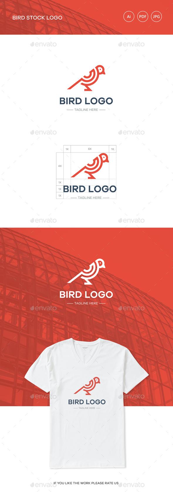 GraphicRiver Bird Stock Logo 20491936