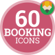 Booking Hotel Service Travel Tourism Animation - Flat Icons and Elements