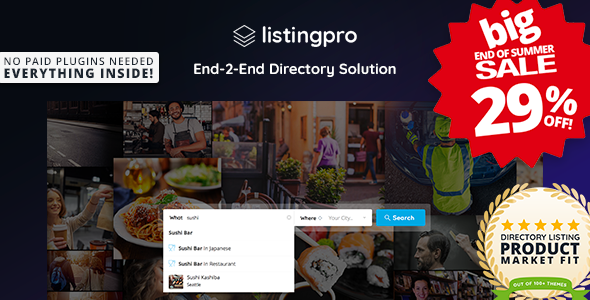 ListingPro - Directory WordPress Theme