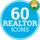 Estate Property Realtor Animation - Flat Icons and Elements