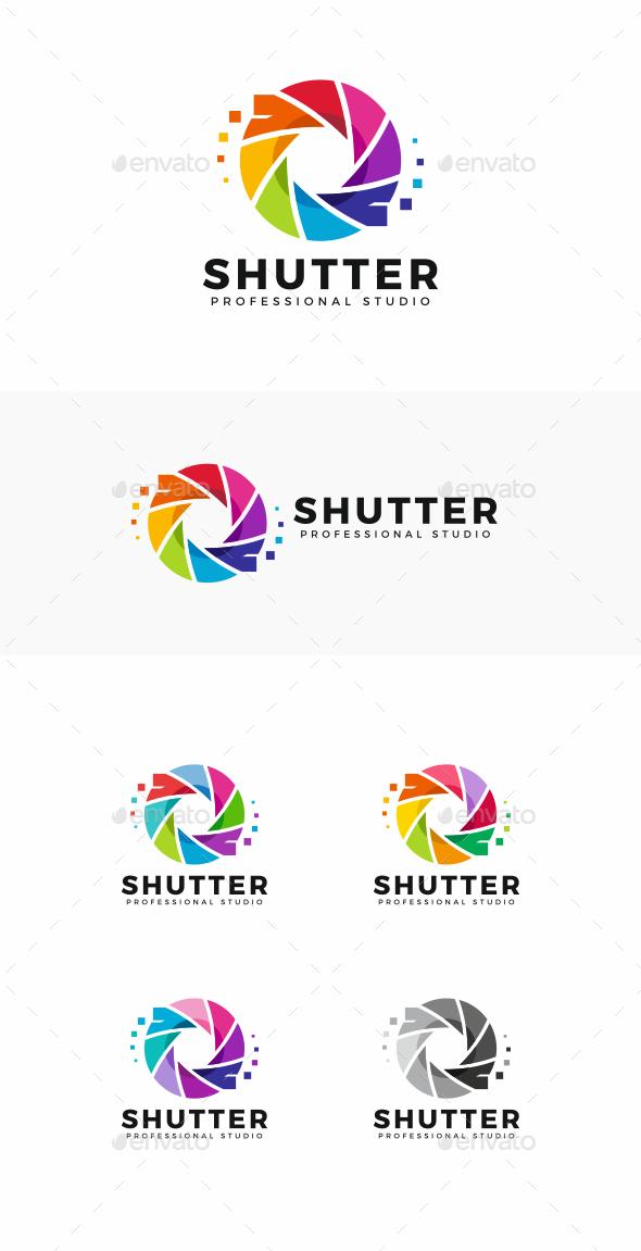 GraphicRiver Shutter Logo 20497819