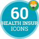 Health Insurance Animation - Flat Icons and Elements