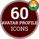 Avatar Profile Profession People Animation - Flat Icons and Elements