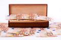 Box full of European money  - PhotoDune Item for Sale