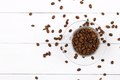 Coffee beans in the cup  - PhotoDune Item for Sale