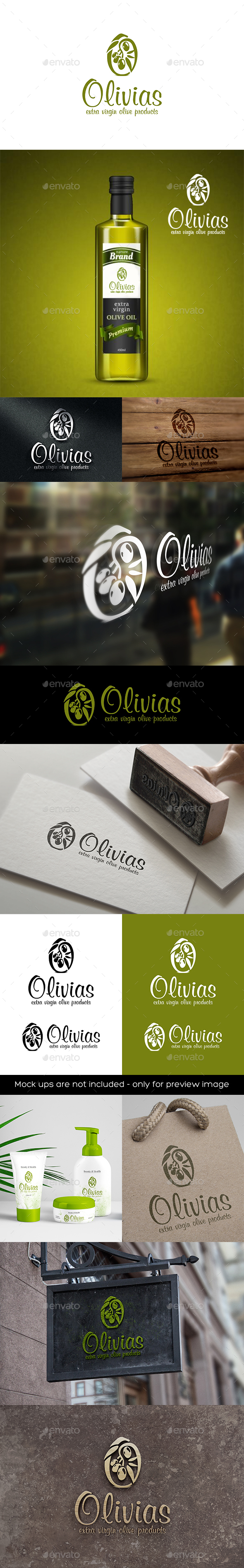 GraphicRiver Olivias 20495379