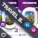 Travel Tour Bundle Templates - GraphicRiver Item for Sale
