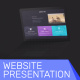 Website Laptop Presentation