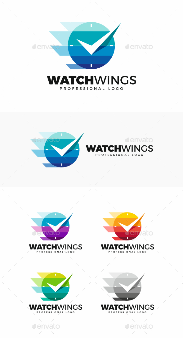 Watch Logo - Objects Logo Templates