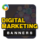Digital Marketing Banners - Image Included - GraphicRiver Item for Sale